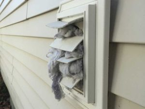 The dangers of not cleaning your lint vent