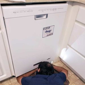 Dishwasher diagnostics and repair by Able and Ready Appliance Repair