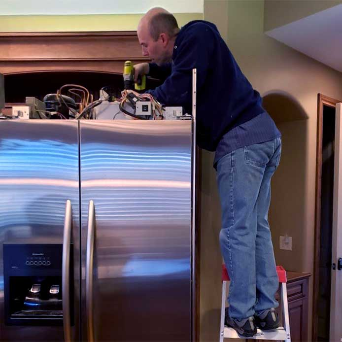 Refrigerator diagnostics and repair by Able and Ready Appliance Repair